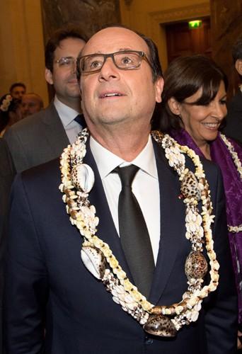 Photos : François Hollande : bons baisers d'Outre-Mer !