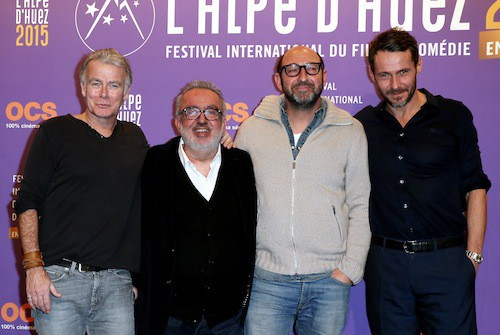 Festival de l'Alpe d'Huez 2015 : Franck Dubosc, Dominique Farrugia, Kad Merad, Julien Boisselier
