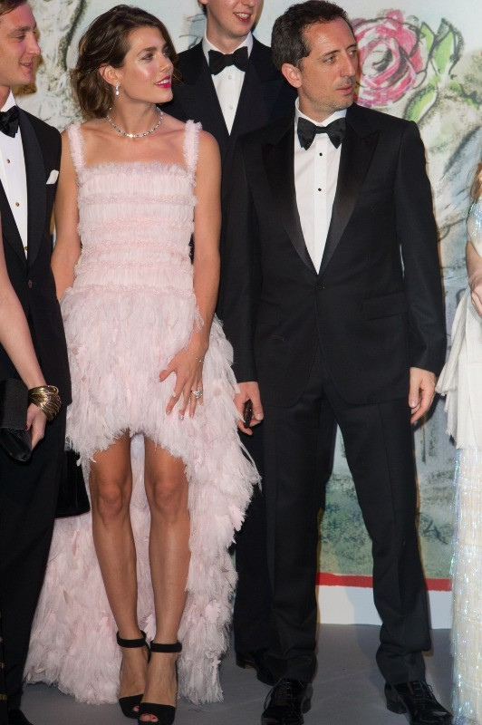 Charlotte Casiraghi et Gad Elmaleh, Monaco, 23 mars 2013.