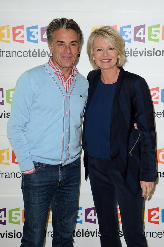 Gérard Holtz et Sophie Davant