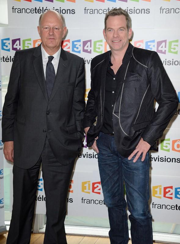 Rémy Pflimlin et Garou