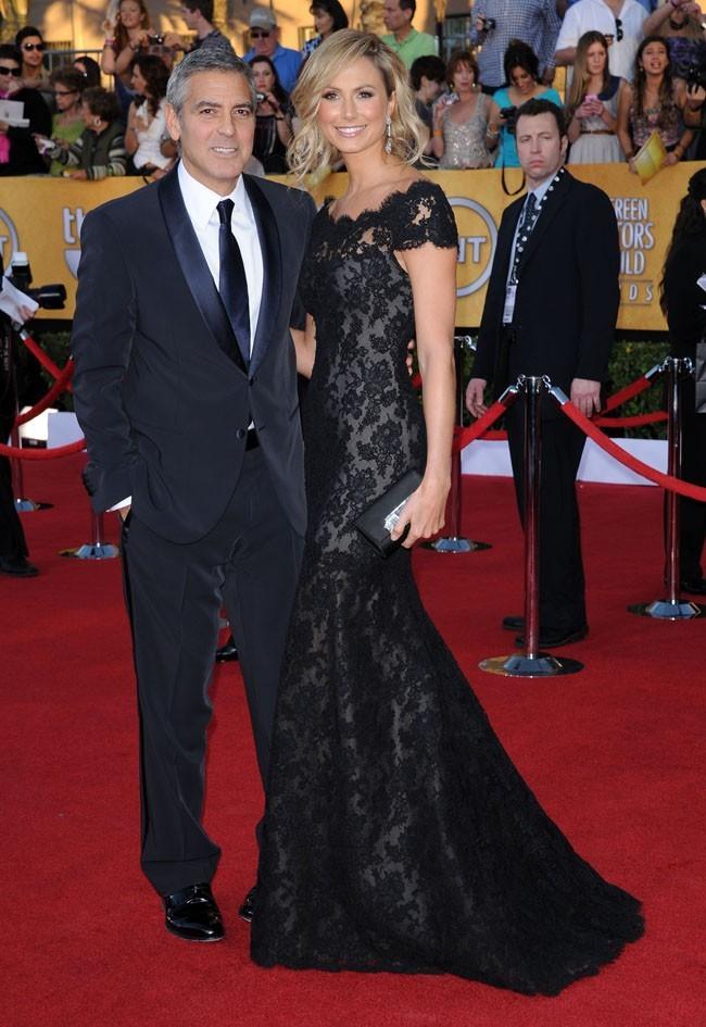 Un couple très glamour sur le tapis rouge...