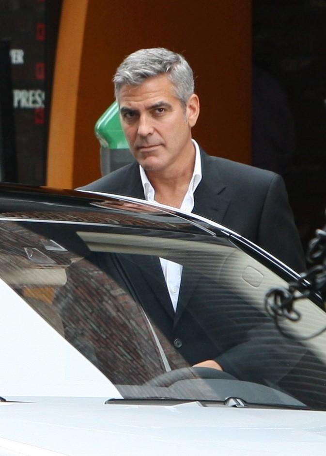 George Clooney tourne une pub pour une voiture !
