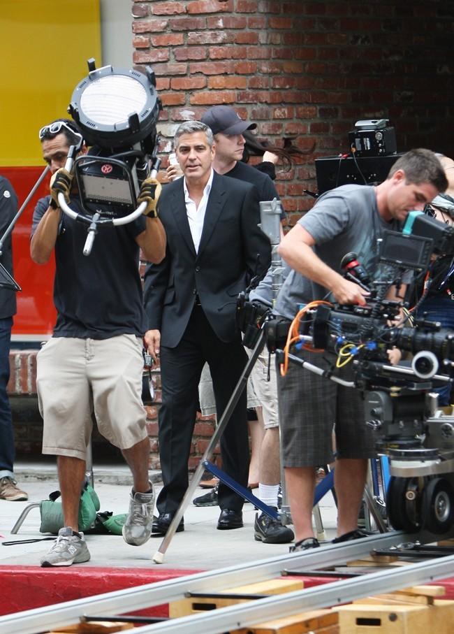 Une grosse équipe pour le tournage !