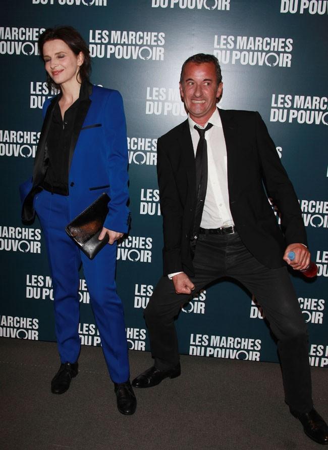 Juliette Binoche et Christophe Dechavanne, déchaîné !