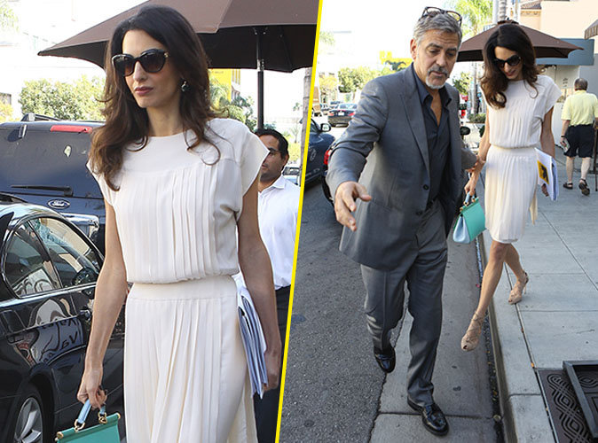 George Clooney toujours aussi amoureux, Amal toujours aussi glamour !