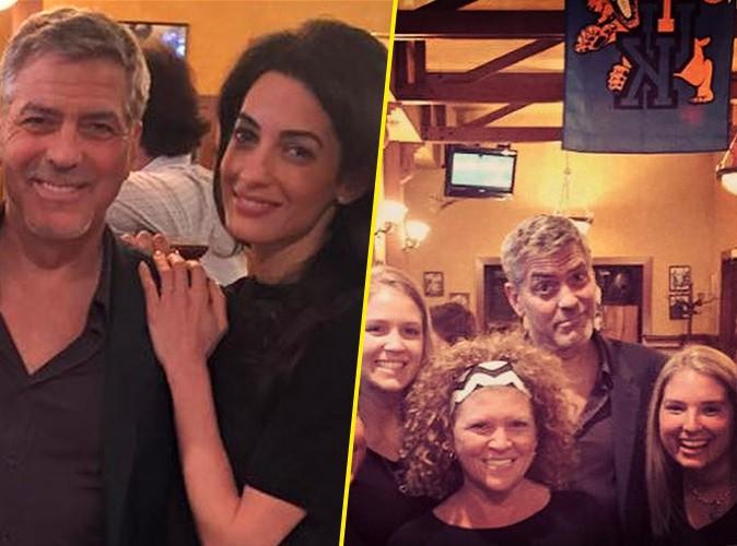 Photos : George et Amal Clooney : dépaysement assuré en terre natale !