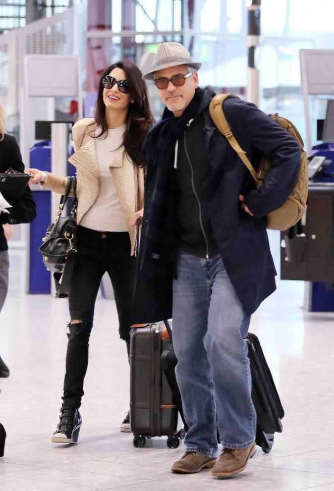 George et Amal Clooney : un couple marié qui se laisse déjà aller ?