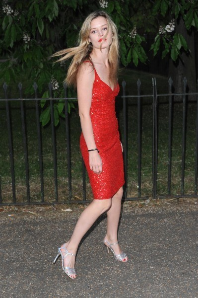 "Georgia May Jagger lors de la soirée ""Serpentine Gallery Summer Party"" à Londres, le 26 juin 2013."