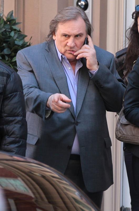 Gérard Depardieu dans la peau de Dominique Strauss Khan