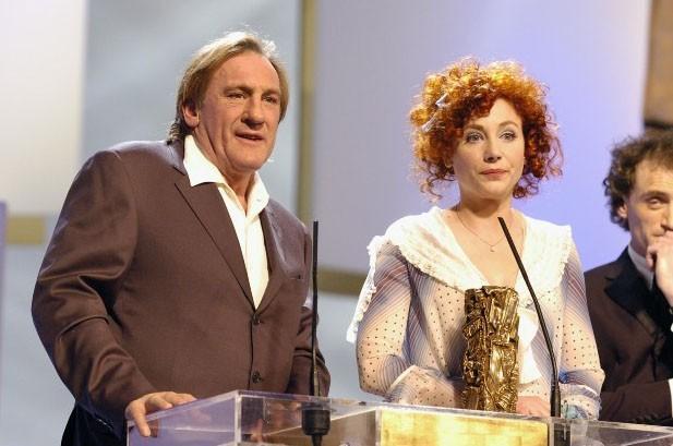 en 2004, l'acteur s'embrouille les pinceaux dans un discours aux Césars...