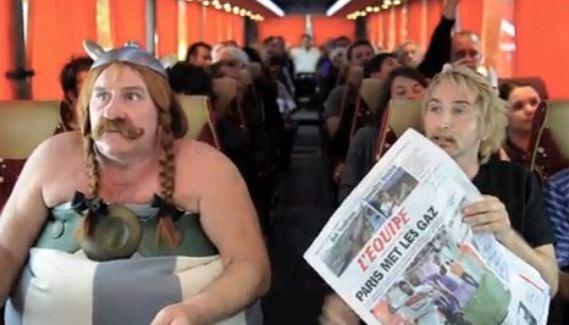 Une parodie de l'incident du vol Paris-Berlin avec Edouard Baer