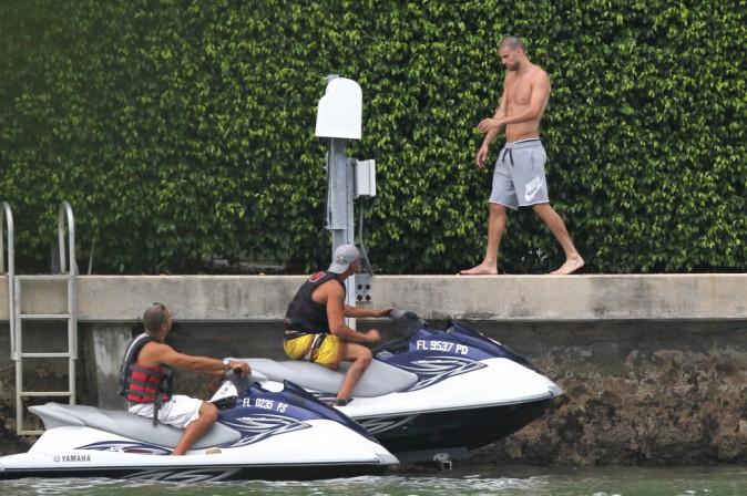 Gerard Piqué à Miami le 8 juillet 2014