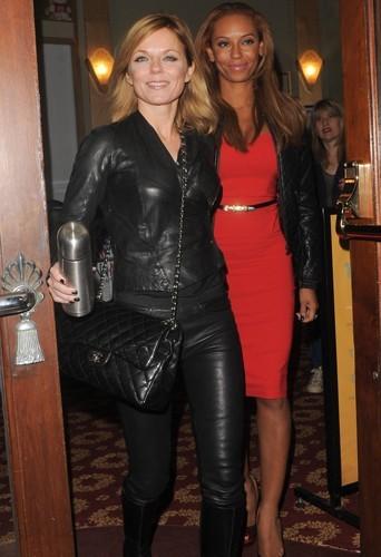 Photos : Geri Halliwell et Mélanie Brown : un binôme sexy pour une soirée girly !