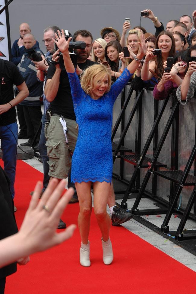 L'ex-Spice Girl complètement déchaînée pour les premières auditions de X Factor UK !