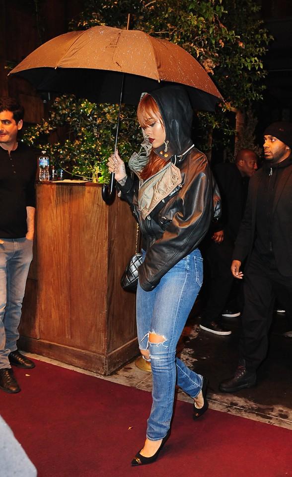 Rihanna à New-York le 1er juin 2015