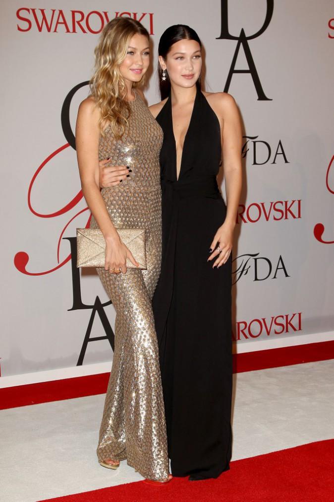 Gigi et Bella Hadid le 1er juin 2015