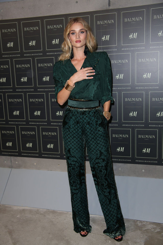 Rosie Huntington-Whiteley le 20 octobre 2015