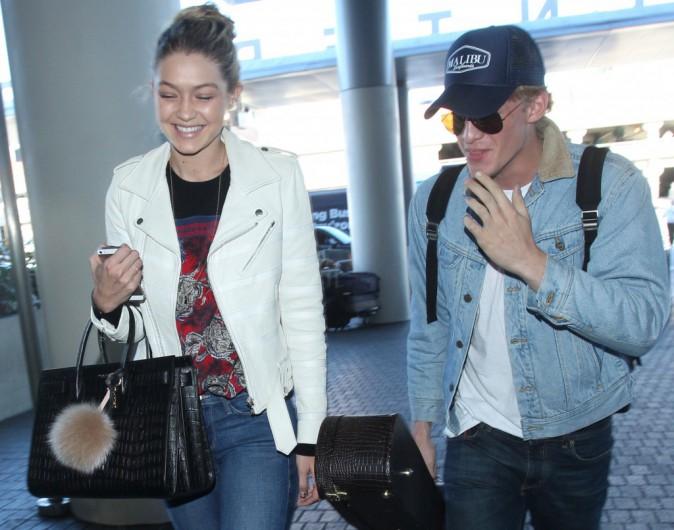 Gigi Hadid et Cody Simpson le 28 décembre 2014