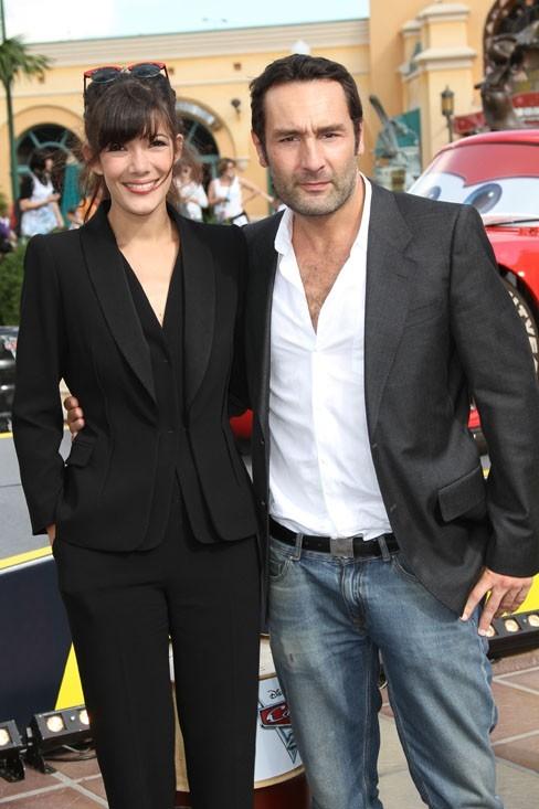 Gilles Lelloche et sa compagne Mélanie Doutey
