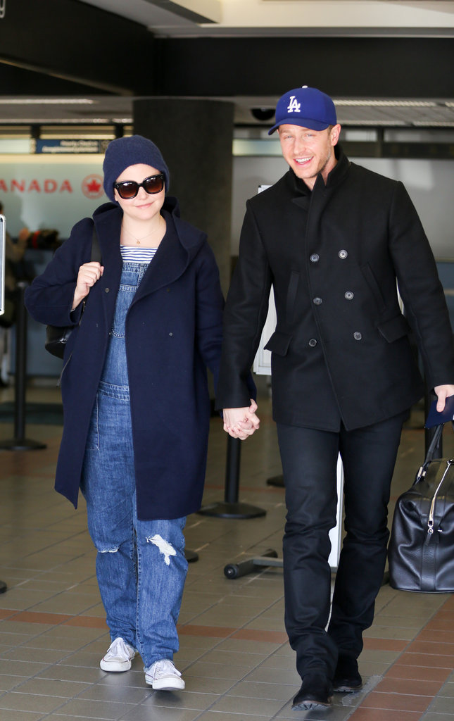 Photos : Ginnifer Goodwin dévoile son baby bump, Josh Dallas aux anges !