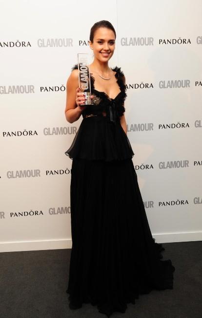 Jessica Alba lors des Glamour Awards 2012 à Londres, le 29 mai 2012.