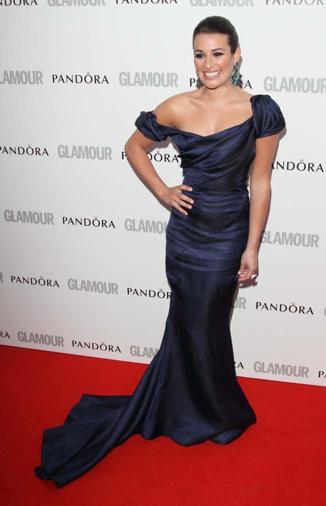 Lea Michel hier au Glamour Women of the Year awards