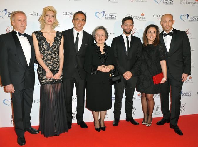 Nikos Aliagas en famille à Paris le 12 mai 2014