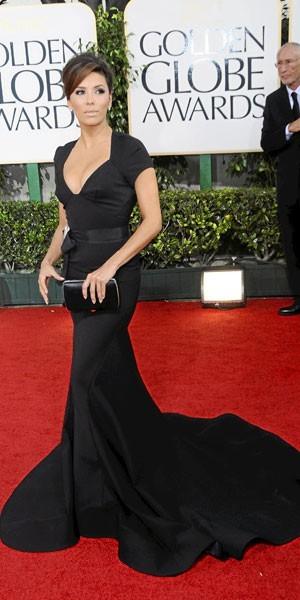 Golden Globes 2011 : le look d'Eva Longoria