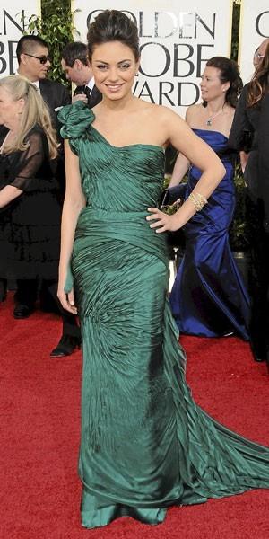 Golden Globes 2011 : le look de Mila Kunis