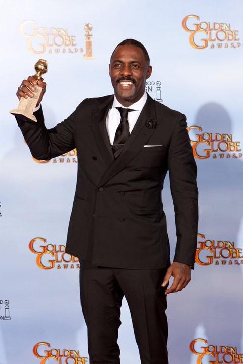 Idris Elba, meilleur acteur dans Luther