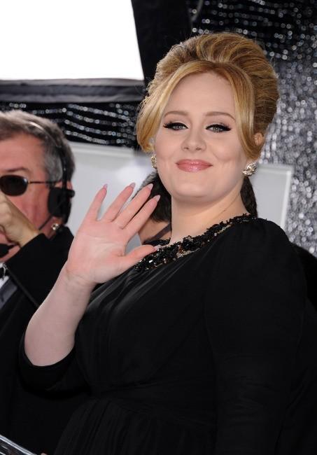 Adele lors de la 70e cérémonie des Golden Globes à Los Angeles, le 13 janvier 2013.