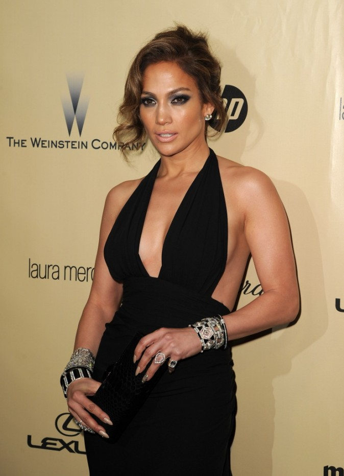 Jennifer Lopez le 13 janvier 2013 à Los Angeles