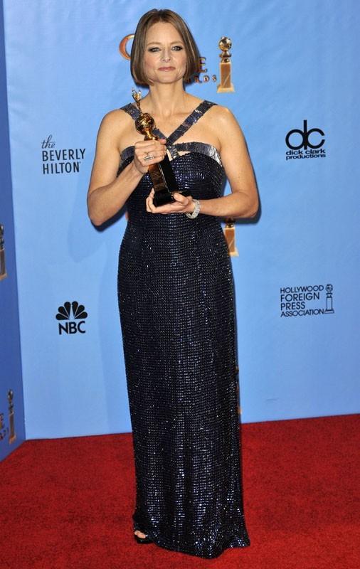 Jodie Foster honorée pour l'ensemble de sa carrière aux Golden Globes 2013 !
