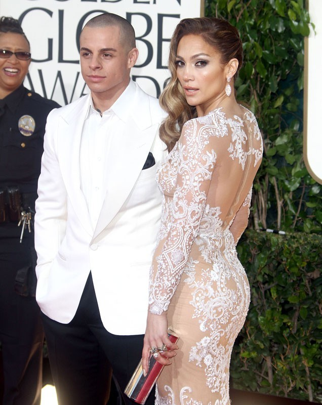 Jennifer Lopez et Casper Smart