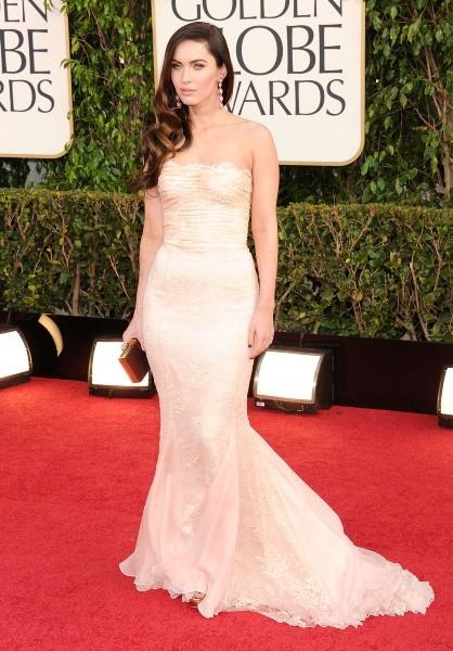 Megan Fox lors de la 70e cérémonie des Golden Globes à Los Angeles, le 13 janvier 2013.