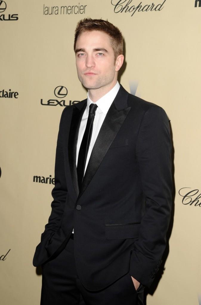 Robert Pattinson à la cérémonie des Golden Globes cette nuit