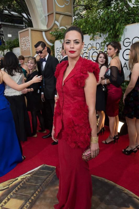 Bérénice Béjo lors de la cérémonie des Golden Globes à Beverly Hills, le 12 janvier 2014.