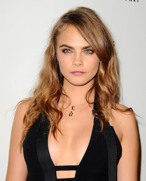 Cara Delevingne à l'after party des Golden Globes 2015, le 11 janvier 2015