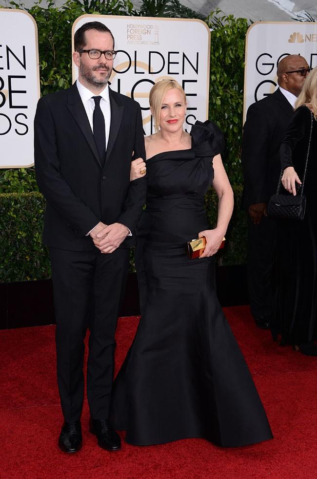 Eric White et Patricia Arquette