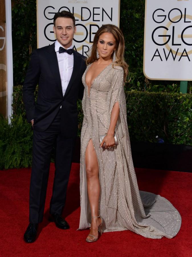 Jennifer Lopez et Ryan Guzman le 11 janvier 2015