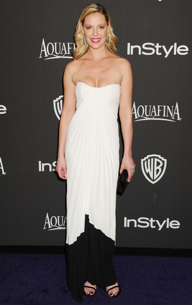 Katherine Heigl à l'after-party In style organisée à Beverly Hills le 11 janvier 2015