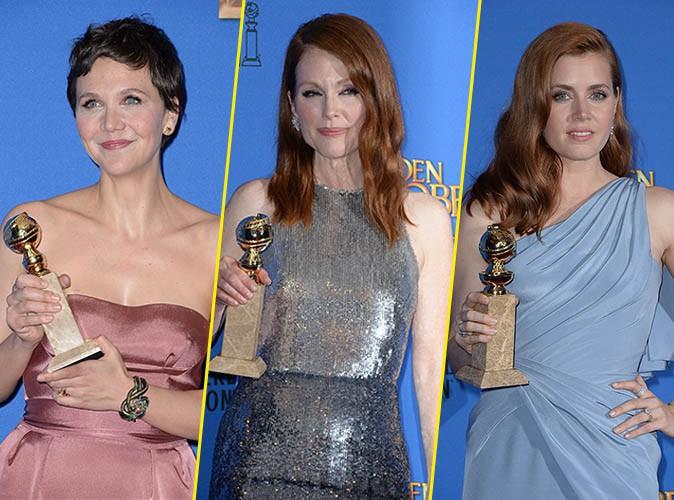 Photos : Golden Globes : Maggie Gyllenhaal, Julianne Moore, Amy Adams…les grandes gagnantes de la cérémonie !