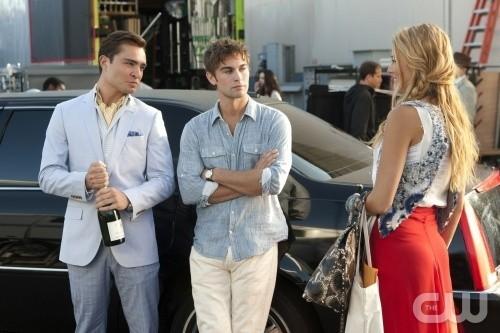 Nate, Chuck et Serena ont passé une partie de l'été à LA !
