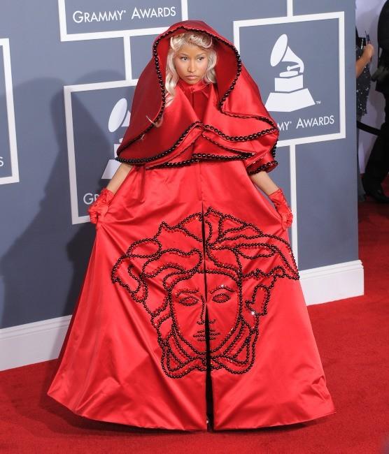 Nicki Minaj lors de la cérémonie des Grammy Awards à Los Angeles, le 12 février 2012.