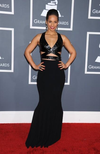 Alicia Keys lors de la 55e cérémonie des Grammy Awards à Los Angeles, le 10 février 2013.