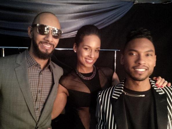 Alicia Keys aux côtés de son mari et de Miguel Pimentel !