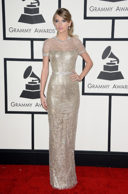 Taylor Swift lors des Grammy Awards à Los Angeles, le 26 janvier 2014.