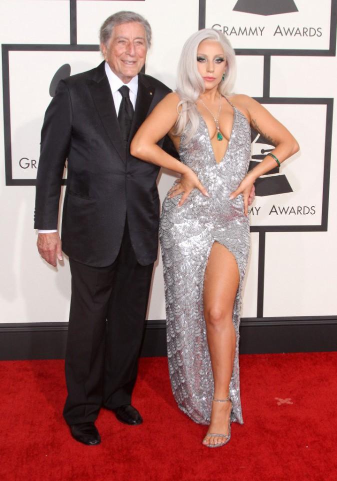 Lady Gaga et Tony Bennett le 8 février 2015