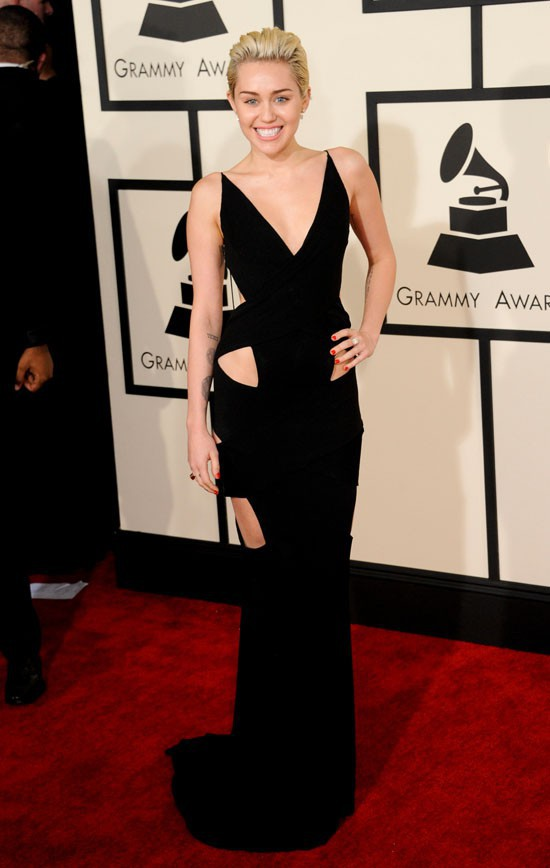 Miley Cyrus aux Grammy Awards le 8 février 2015
